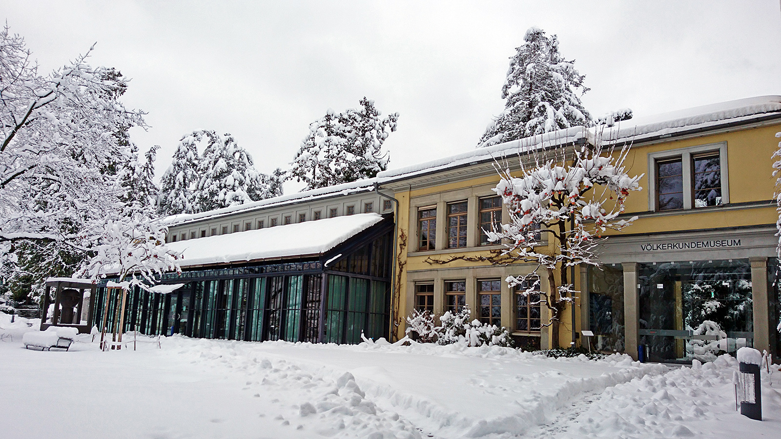 Ethnographic Museum at the University of Zurich, January 15th 2021