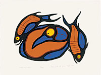 Norval Morrisseau: Images of Myths